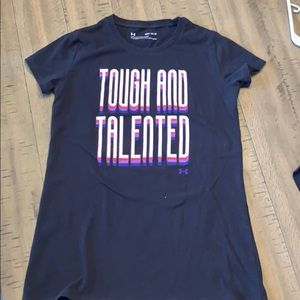 Girls Under Armour Tee size YMD